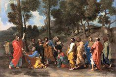 Nicholas Poussin – Il sacramento dell'ordinazione (Cristo dona le chiavi a San Pietro)
