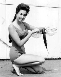 Flying fish, Catalina Island, 1963. Oh man, I have to show my kids the flying fish! <3