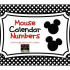 Free mouse calendar numbers    Coming soon--Months of the year calendar headers    For more ideas and freebies, please visit my blog Live Laugh and...