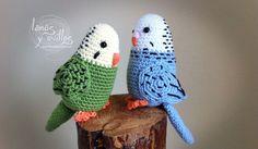 Amigurumi parrot free pattern