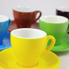 Milano Espresso Cup, Various Colors.