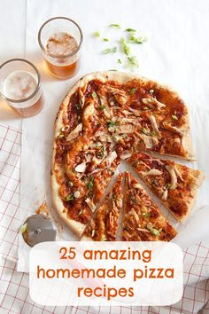 25 easy and amazing homemade pizza recipes we love Best Recipes via www.imgrecipes.com