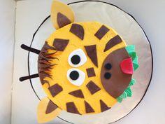 Giraffe zoo themed smash cake. Similar to a pic online. Fun cake
