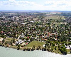 Travel to Siofok, the exciting beach resort on Lake Balaton, and discover its charming Victorian architecture. Danube River, Victorian Architecture, Exotic Places, Medieval Castle, Budapest Hungary, Central Europe, Beach Resorts, Croatia, Dolores Park