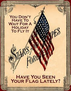 Stars and Stripes...  it should be flown  everyday.....:-)