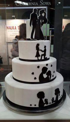 Zobacz zdjęcie tort ślubny w pełnej rozdzielczości