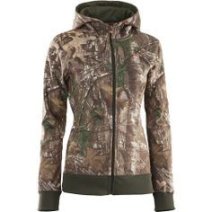 Under Armour® Women's Camouflage Full Zip Hoodie