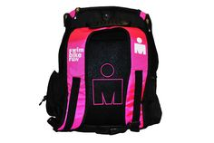 IRONMAN Store | Triathlon Gear and Triathlon Clothing IRONMAN Backpack - Pink/Black