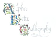 Lettering - Art Lettering - Hand Lettering -Typography - Calligraphy - Marian Morris - 03