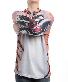 #zulily #fall   Take a look at this Tiger Hooded Tee - Toddler & Kids by Blow-Out on #zulily today!