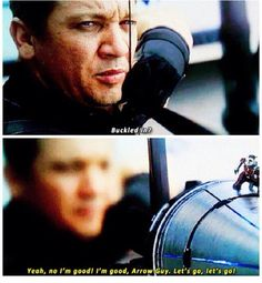Hawkeye and Ant-Man