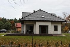Projekt domu Filip 181,11 m2 - koszt budowy 191 tys. zł - EXTRADOM Home Fashion, House Design, Cabin, House Styles, Houses, Home Decor, Homes, Decoration Home, Room Decor