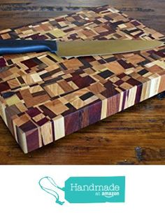 Chaos End Grain Cutting Board * Check this awesome product by going to the link at the image. End Grain Cutting Board, Wood Cutting Boards, Butcher Block Cutting Board, Butcher Blocks, Chopping Boards, Dining Ware, Woodworking Projects That Sell, Woodworking Ideas, Tapas