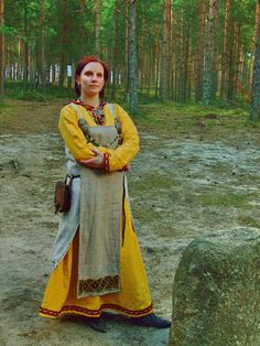 I kind of like this interpretation of the apron... Viking Princess... by ~Sandblack on deviantART