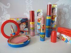 MAC Wonder Woman Lipstick, Gloss andBlush  COOL!!!  :O
