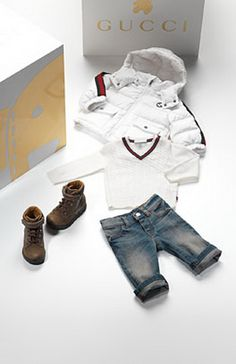 Gucci Baby Clothes. If u only hang with ppl that have style, our baby will need these.omg to die for!!!