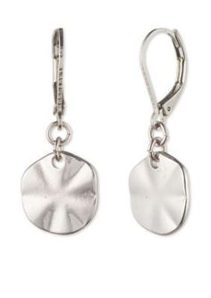 Lonna  Lilly  Silver-Tone Coin Drop Earrings