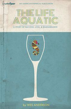 El vida acuática Movie Poster  11 x 17  por TrevorDuntPosterDsgn