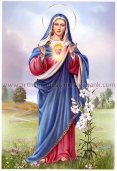 Blessed Virgin Mary of Mercy.  Image licensing