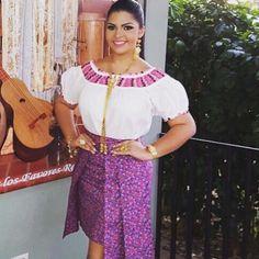 """51 Likes, 2 Comments - K-lados Couture Panamá (@kladospanama) on Instagram: """"nuestra querida reina del festival nacional de la mejorana, en esta ocasión para asistir a los…"""""""