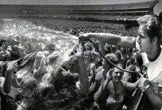 Day on the Green, Oakland Coliseum1973 to early 1990sThese Bill Graham Presents concerts are legendary. The Who, The Clash, The Police, The Grateful Dead, Fleetwood Mac, Led Zeppelin...the list of musical acts is impressive. It's a shame today's teens are missing out on the fun. (Picture of fans being doused in water taken on July 19, 1982) Photo: Steve Ringman, The Chronicle