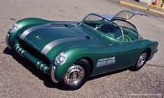 1954 PONTIAC BONNEVILLE SPECIAL MOTORAMA CONCEPT CAR, Sold at B/J for 2.8 mil
