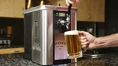 The SYNEK promises fresh beer on tap in your kitchen.