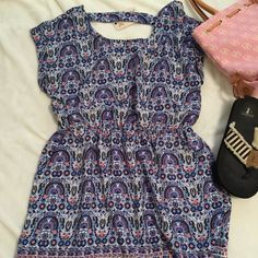 Dress New with tags, elastic waist and float cool material perfect for summer! Pink Rose Dresses