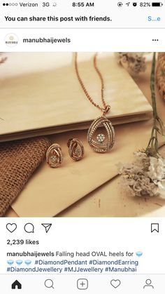A Comprehensive Guide To Rose Gold Jewelry Pendant Design, Pendant Set, Diamond Pendant, Rose Gold Jewelry, Bridal Jewelry, Jewelry Patterns, Jewelry Sets, Jewelery, Jewelry Design