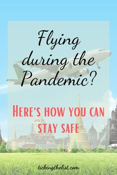 Tips and tricks on how you can keep yourself safe when flying during the pandemic. Where to sit, what to bring with you. These tips will help you feel secure.