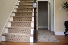 Gret Velvet Gray Chenille Carpet Runner For Stairs With Dark Veneer Banister Rails Stair And Cool Ivory Alley Rugs On Laminate Wooden Flooring As Inspiring Contemporary Interior Design