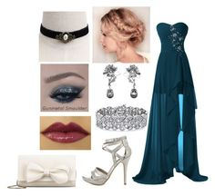 """Prom Night #5"" by madeinchina03 ❤ liked on Polyvore featuring Michael Antonio, RED Valentino, Alexander McQueen and Palm Beach Jewelry"