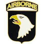U.S. Army 101st Airborne Division pin - Meach's Military Memorabilia & More