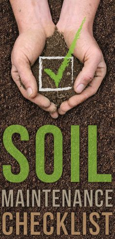 garden is only as good as it's soil. Find out if you are properly maintaining your soil with our simple checklist. Garden Soil, Lawn And Garden, Vegetable Garden, Garden Plants, Garden Landscaping, House Plants, Farm Gardens, Outdoor Gardens, Organic Gardening