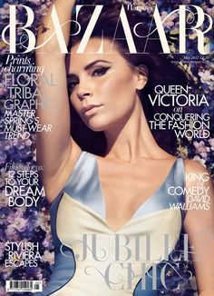 Victoria Beckham by Camilla Akrans for Harper's Bazaar UK May 2012