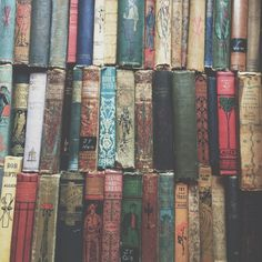 beauty of vintage books