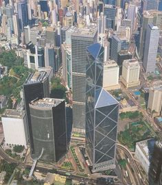 bank of china tower hong kong top view - Google Search