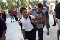 Iniciaron las clases en Chicago a una semana que pudiera estallar una huelga de maestros. ARMANDO L. SÁNCHEZ/CHICAGO TRIBUNE
