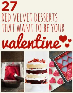 27 Red Velvet Desserts That Want To Be Your Valentine
