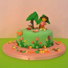 Tarta Dora la Exploradora.