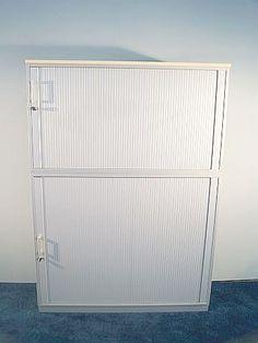 Aktenschrank  Aktenschrank, 2-Teilig, Hersteller: Schärf, Farbe: Weiß ...