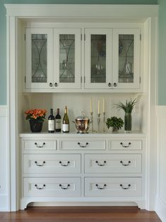 Trendy Kitchen Pantry Built In Buffet 63 Ideas Trendy Kitchen Pantry Built In Buffet 63 Idea… - My Kitchen Home Nice Built In Buffet, Built In Hutch, Built In Cabinets, Built In Pantry, Inset Cabinets, Glass Cabinets, White Cabinets, Cupboards, Kitchen Redo