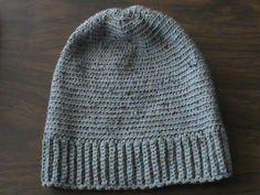 Gorra para hombre a crochet. - YouTube