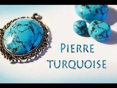 TUTO FIMO: Faire des pierres turquoise en fimo ✐