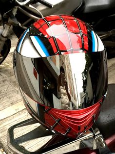 Spiderman DOT & ECE 830 Helmet By Masei Helmet from the idea of Spider-Man Movies