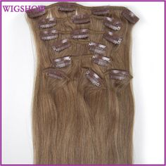 Clip in Human Hair Straight ,body wave ,deep wave ,kinky curly ,loose wavy   http://www.dhgate.com/store/top-selling/14408175/1.html