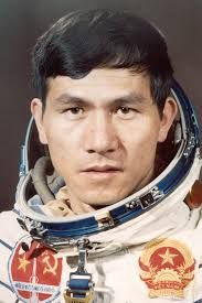 9th human in space Arnaldo Tamayo Mendez Born : 29 January 1942 Living Outer space :18 September 1980 Time in space : 7d 20h 43m Nationality : Cuban