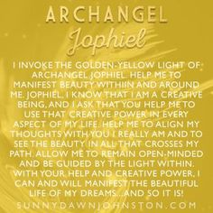 Seven Steps to Manifesting with Archangel Jophiel Archangels Supernatural, Archangels Names, Archangel Jophiel, Smudging Prayer, Archangel Prayers, Raphael Angel, Angel Numbers, Angel Cards, Angels In Heaven