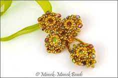 The Blossoms : Manek-Manek Beads - Jewelry | Kits | Tutorials | Workshops