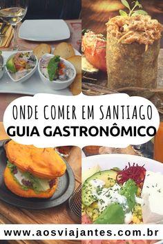 Um guia de restaurantes divido por bairro, valor e culinária. Tudo de imperdivel e de barato também em Santiago do Chile.  Aqui esta Coco, Como agua para chocolate e outros!